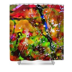 Early Morning Dew Shower Curtain by Judi Bagwell