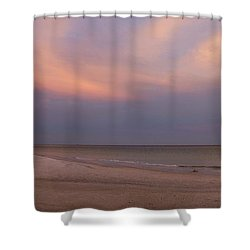East - After The Sunset Shower Curtain by Sandy Keeton