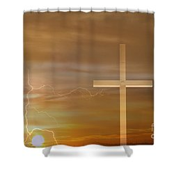 Easter Sunrise Shower Curtain by James BO  Insogna