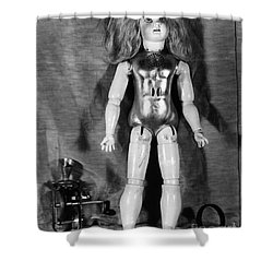 Edison: Talking Doll, C1890 Shower Curtain by Granger