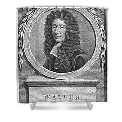 Edmund Waller (1606-1687) Shower Curtain by Granger