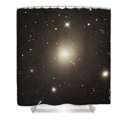 Elliptical Galaxy Messier 87 Shower Curtain by Robert Gendler