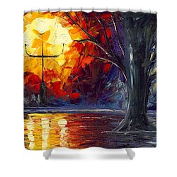 Enchanted Forest Shower Curtain by Jessilyn Park
