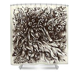 Enchantment Shower Curtain by Rachel Christine Nowicki