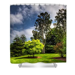 English Countryside  Shower Curtain by Adrian Evans