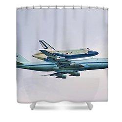 Enterprise 5 Shower Curtain by S Paul Sahm
