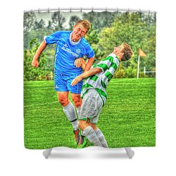 Eric Shower Curtain by Rod Wiens