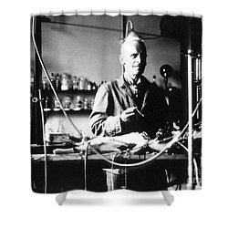 Ernest Henry Starling, English Shower Curtain by Science Source
