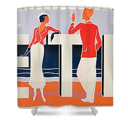 Ete Shower Curtain by ME Caddy