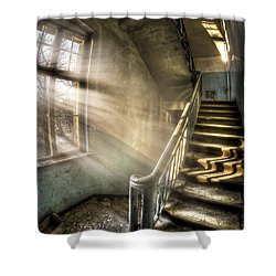 Evening Light Cooming In Shower Curtain by Nathan Wright