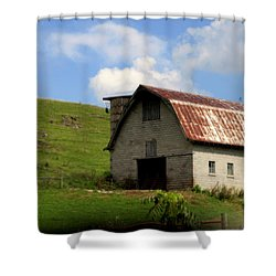 Faded Generations Shower Curtain by Karen Wiles