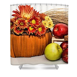 Fall Pleasures Shower Curtain by Susan Smith