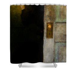 Fear Shower Curtain by Jill Battaglia