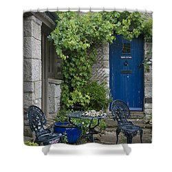 Feel A Homey Ambience Shower Curtain by Heiko Koehrer-Wagner