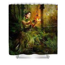Fern Shower Curtain by Mary Hood