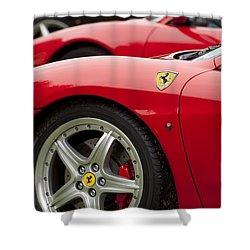 Ferraris 5 Shower Curtain by Jill Reger