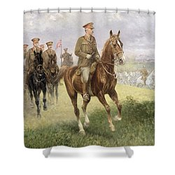 Field Marshal Haig Shower Curtain by Jan van Chelminski