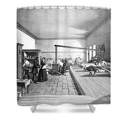 Florence Nightingale, English Nurse Shower Curtain by Photo Researchers, Inc.