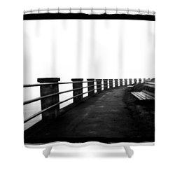 Foggy Day H-6 Shower Curtain by Mauro Celotti