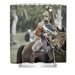 For A Brief Moment Shower Curtain by Kim Henderson