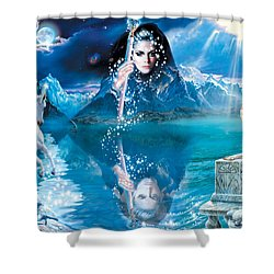 Fortunes Dream Shower Curtain by Andrew Farley