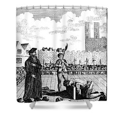 Foxes Book Of Martyrs Shower Curtain by Granger