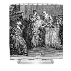 France: Daily Life Shower Curtain by Granger