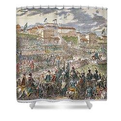 Francis Joseph I Of Austria Shower Curtain by Granger