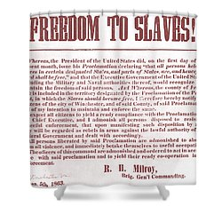 Freedom To Slaves Shower Curtain by Photo Researchers, Inc.