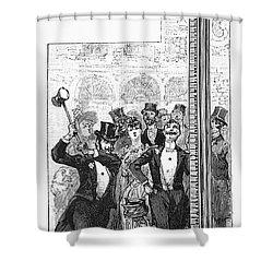 French Fair, 1889 Shower Curtain by Granger