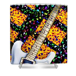 Frets Shower Curtain by Bill Cannon