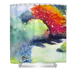 From The Window Shower Curtain by Yoshiko Mishina