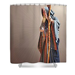 From Within And From Without Shower Curtain by Kristin Elmquist