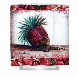 Fruit Fusion Shower Curtain by Shana Rowe Jackson