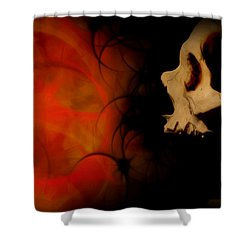 Frustration Shower Curtain by Vic Weiford