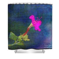 Fuchsia Flower Shower Curtain by Judi Bagwell