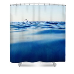 Fun Time Shower Curtain by Stelios Kleanthous