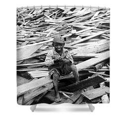 Galveston Flood Survivor - September - 1900 Shower Curtain by International  Images