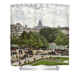 Garden Of The Princess Shower Curtain by Claude Monet