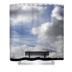Garden Seat Shower Curtain by Fabrizio Troiani