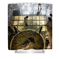 Gate To The Underworld Shower Curtain by Lynn Palmer