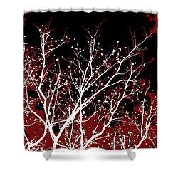 Genesis Shower Curtain by Glennis Siverson