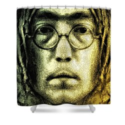 Give Peace A Chance Shower Curtain by Bill Cannon