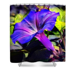 Glory Of The Morning Shower Curtain by Judi Bagwell