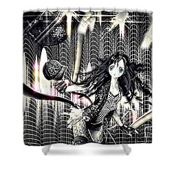 Go Dance Shower Curtain by Mo T