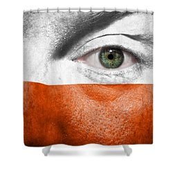 Go Poland Shower Curtain by Semmick Photo