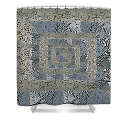 Go With The Floe 4 Shower Curtain by Tim Allen