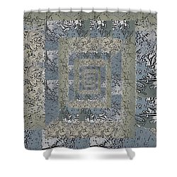 Go With The Floe 6 Shower Curtain by Tim Allen