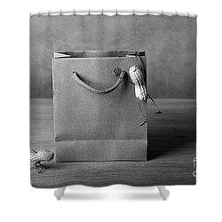 Going Shopping 04 Shower Curtain by Nailia Schwarz