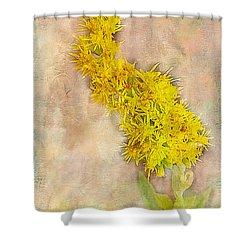 Goldenrod Shower Curtain by Judi Bagwell